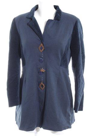 Elisa Cavaletti Jerseyblazer dunkelblau-anthrazit extravaganter Stil