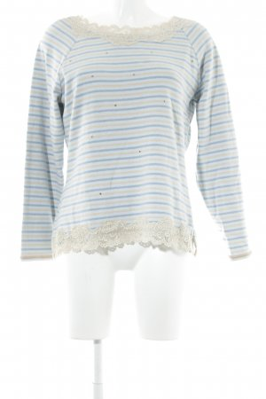 Elisa Cavaletti Long Sweater azure-nude casual look