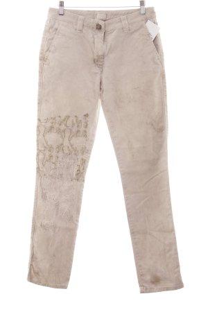 Elisa Cavaletti Slim Jeans beige Boho-Look