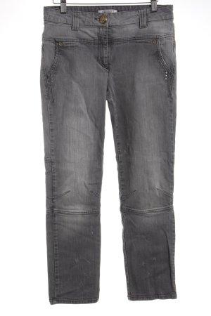 Elisa Cavaletti Slim Jeans hellgrau Casual-Look