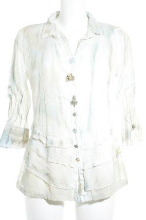 Elisa Cavaletti Transparenz-Bluse mehrfarbig Transparenz-Optik