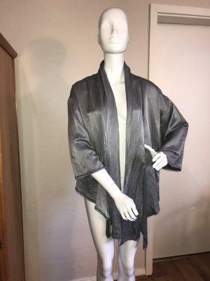 Blusa tipo kimono multicolor Seda