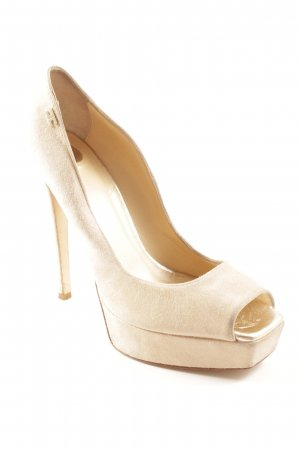 Elisabetta Franchi High Heels beige Party-Look
