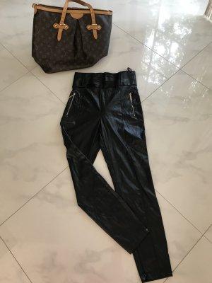 Elisabetta Franchi Pantalone elasticizzato nero