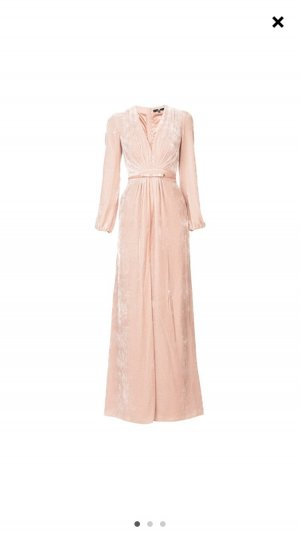 Elisabetta Franchi Robe empire or rose-rosé