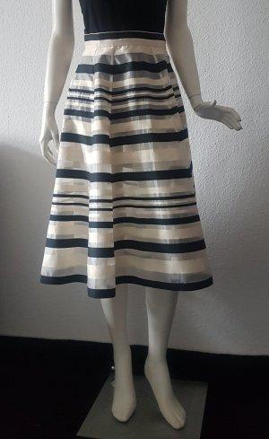 Elisabetta Franchi Plaid Skirt black-pale yellow viscose