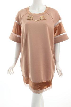 Elisabetta Franchi Shirtkleid beige klassischer Stil