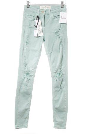 Elisabetta Franchi Skinny Jeans türkis Casual-Look