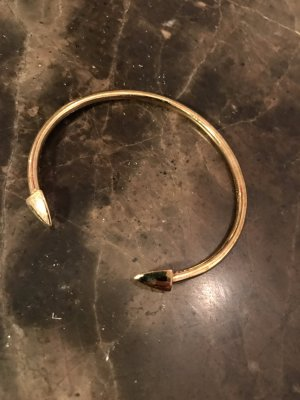 Elizabeth and James Armlet gold-colored real silver