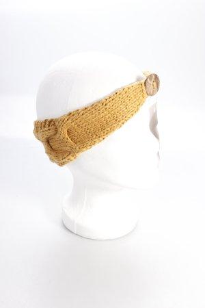 Elizabeth Koh hairband knitting ocher