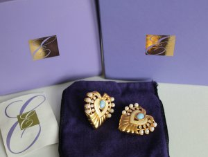 Elizabeth Taylor Couture Jewelry Heart of Hollywood