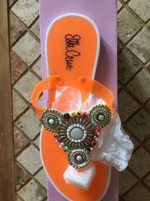Ella Cruz Flip Flops 39 Neu