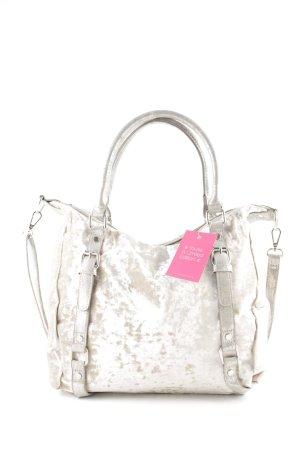 Ella Cruz Handbag cream casual look