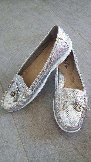 ELLA CRUZ Schuhe, silber, Gr. 39 -NEU mit Karton-