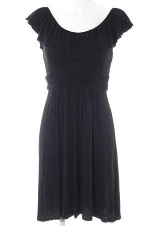 Ella Moss Stretchkleid schwarz schlichter Stil