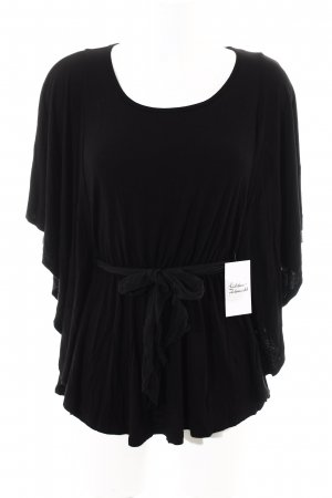 Ella Moss T-Shirt schwarz Boho-Look