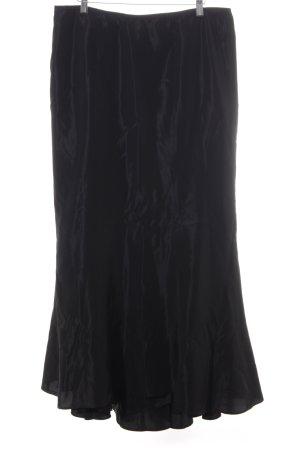 Ella Singh Faltenrock schwarz Elegant
