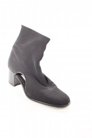 Elle Moda Cut-Out-Stiefeletten schwarz Street-Fashion-Look