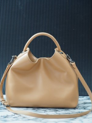 elleme raisin bucket bag