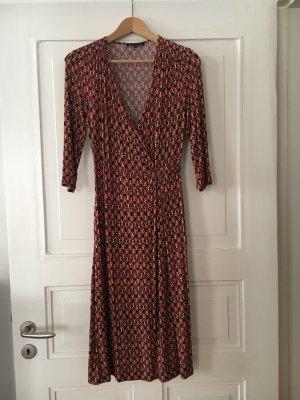 Ellen Eisemann Kleid in Wickeloptik mit 3/4 Arm