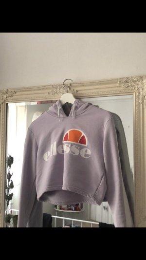 Ellesse Capuchon sweater paars-wit