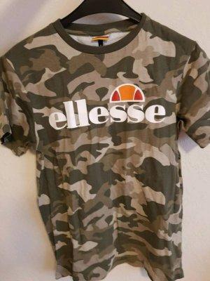 ELLESSE Damen Tshirt Army Look