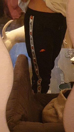 Ellesse Pantalón corto deportivo blanco-negro