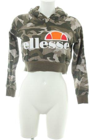 Ellesse Maglione con cappuccio Motivo mimetico stile militare