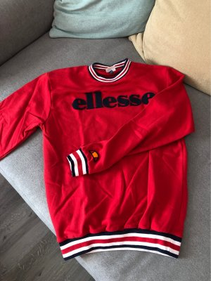 Ellesse Oversized Sweater red