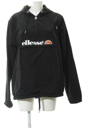 Ellesse Raincoat black athletic style