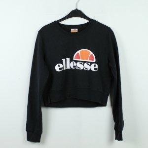 ELLESSE Sweatshirt Gr. 38 schwarz cropped (19/10/189)