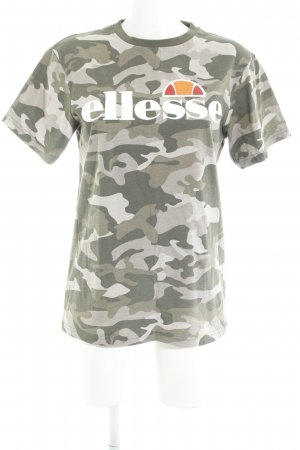 Ellesse T-Shirt Camouflagemuster Casual-Look