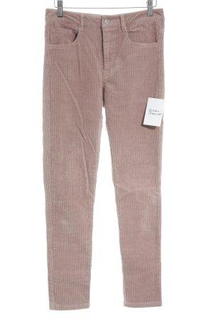 Elsa Bik Bok Pantalone di velluto a coste rosa antico Stile anni '90