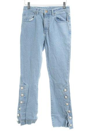 Elsa Bik Bok High Waist Jeans himmelblau extravaganter Stil