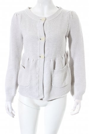 Elvine Strickjacke hellbeige Kuschel-Optik