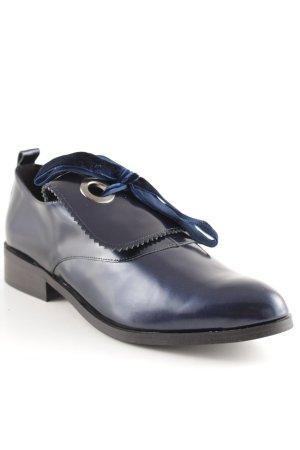 Élyséss Mocassino blu scuro elegante