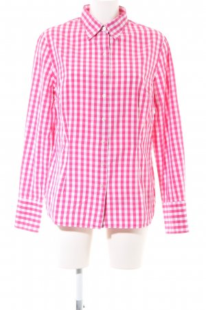 Emanuel Berg Lumberjack Shirt pink-white check pattern casual look