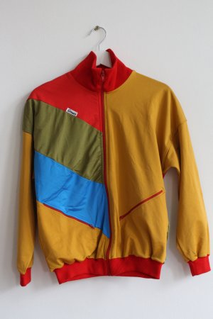 Blouson multicolored mixture fibre