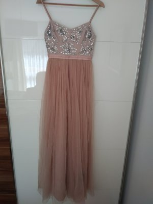 Embellished Crystal Petal Maxi Dress NEU
