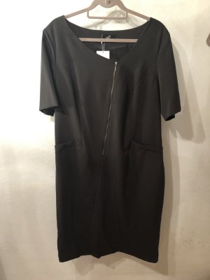 Emilia Lay Robe à manches courtes brun noir