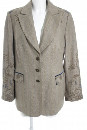 Emilia Lay Long-Blazer florales Muster Casual-Look