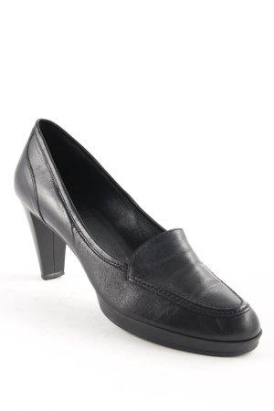 Emilia Lay Trotteur schwarz klassischer Stil