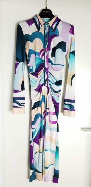 Emilio Pucci Designer Kleid Seide