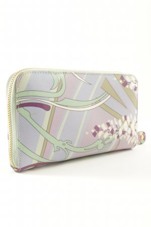 Emilio Pucci Wallet floral pattern casual look