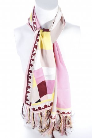 Emilio pucci Neckerchief mixed pattern Fringe Trimming
