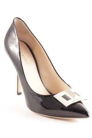 Emilio Pucci High Heels schwarz Elegant