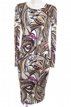 Emilio Pucci Midikleid abstraktes Muster Business-Look