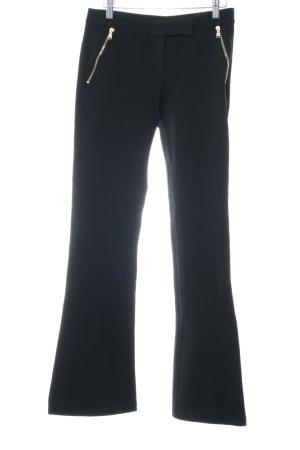 Emilio Pucci Broek met wijd uitlopende pijpen zwart elegant