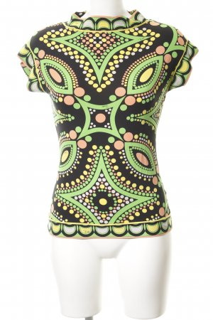 Emilio Pucci T-Shirt abstraktes Muster Casual-Look