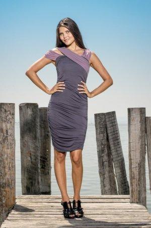 EMILLIA Jerseykleid von LOUISA OKONYE, Größe 36 *SALE*